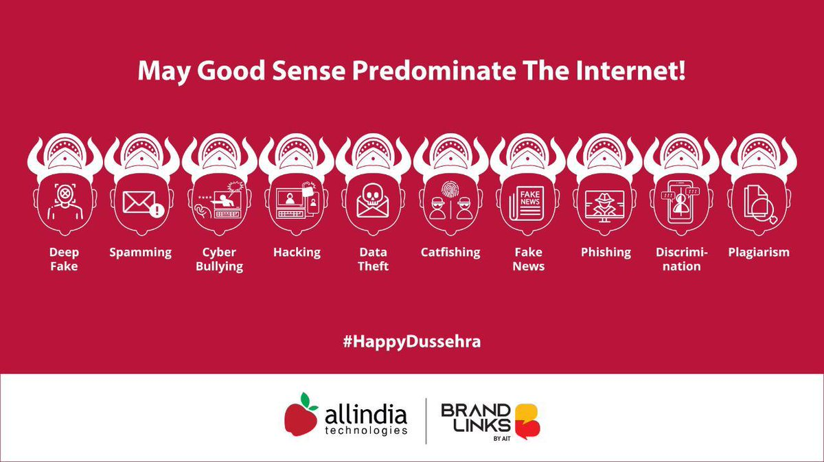 #AIT wishes you a happy, enlightened and empowered #Dussehra. https://t.co/qr41z0k9BA