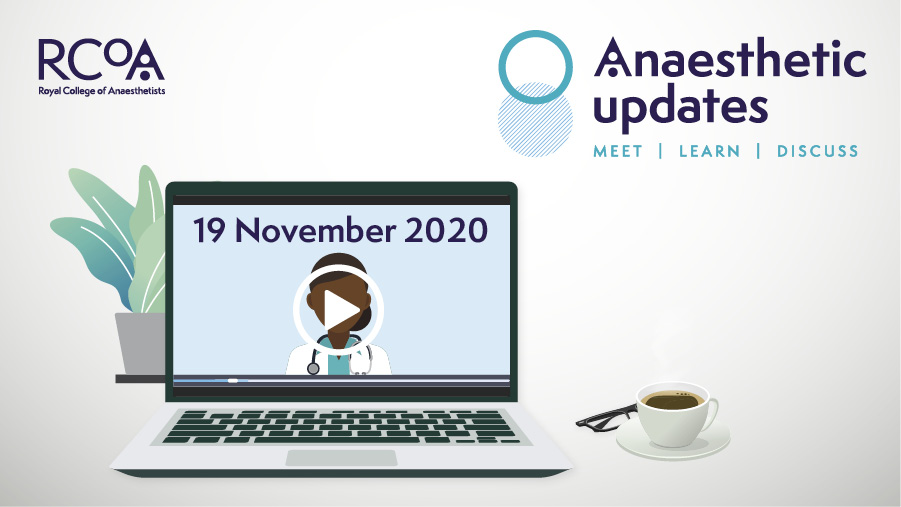 Join us for our next online #RCoAUpdates where we will take a closer look into delivering perioperative care during the #COVID19 pandemic.   Topics include: 🔹 Airway & safety in the COVID era 🔹 Virtual assessment 🔹 COVID risks to the anaesthetist  👉 https://t.co/lyF040cTQo https://t.co/z7hSCkl9l8
