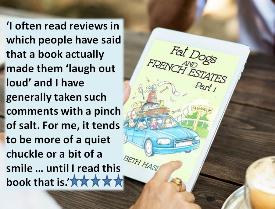I'm so grateful to this kind reader for leaving this fab five-star Amazon review. If you'd like to join my Fat Dogs and me on our adventures in France just click on the book link below.  https://t.co/431mX0WB2X #France #books #Reading https://t.co/mrzT374ZYG