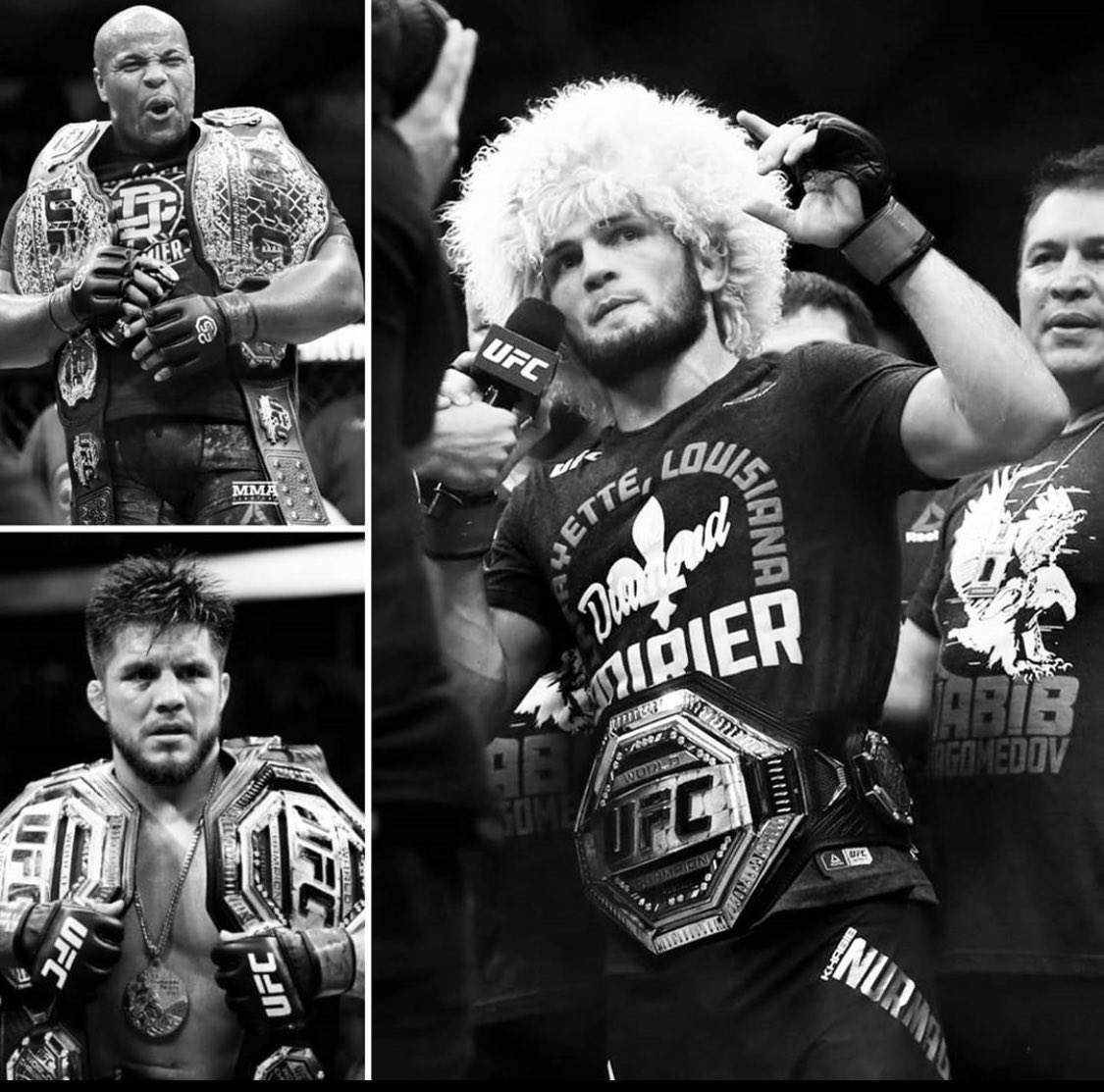 Congrats on your amazing career @khabib_nurmagomedov you will truly be missed. I know your dad is proud of the amazing son he has raised. This year has been a year of the greatest combat Sports athletes of all time retiring in front of the world. #wrestlingislife 🏆🏆🏆 https://t.co/5BzCLc3iOG