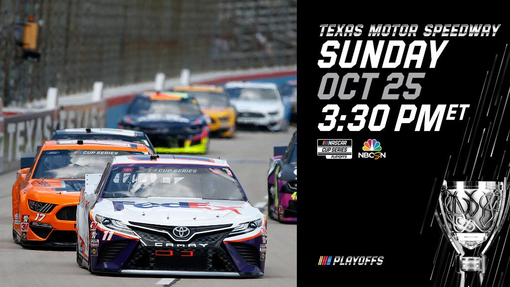Only today stands between us and #Xfinity500 race week. Be sure to tune in to FS1 at 12 PM ET then NBCSN at 3:30 PM ET for all of the action.
