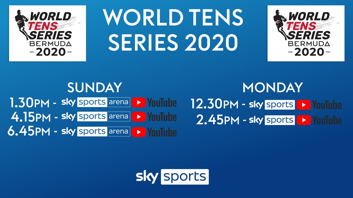 test Twitter Media - ☀️🏉 Fancy some action from the @WorldTens series? It starts in 5 minutes on the Sky Sports Arena and YouTube 📺💻📱   Here's where to watch all of the action from the opening rounds 👇 https://t.co/e5W7rFagTS