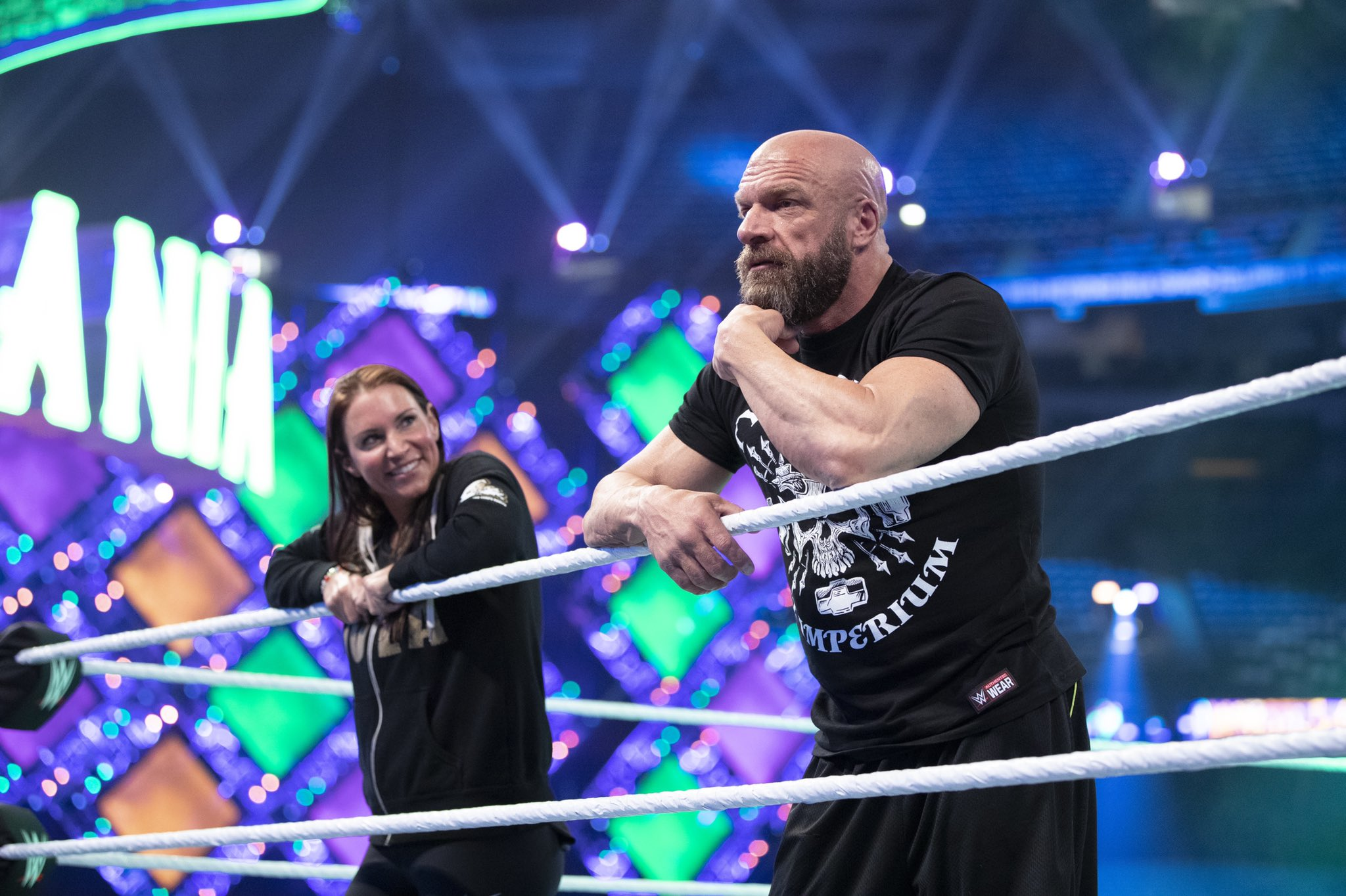 WWE Couple Triple H And Stephanie McMahon Celebrate 17th Marriage Anniversary 2