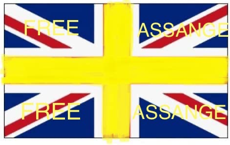 Fly The New Flags untill Julian Assange is Free and the Press r Free to report the Truth to there Nation #FreeAssangeNOW #YellowMovement4Assange #Yellow4Assange #Yellow4FreePress #YellowNation4Assange #YellowRibbons4Assange #YellowClothes4Assange https://t.co/HyhYemhImK