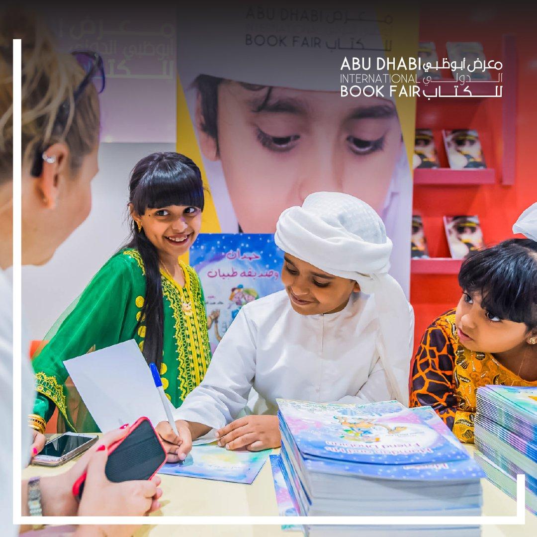 بداية أسبوع سعيدة للجميع! قل لنا بكلمة واحدة ما الذي يدفعك للقرأة؟  #معرض_أبوظبي_الدولي_للكتاب #قراءة #كتاب #ثقافة #في_أبوظبي . . . Happy Sunday! Tell us in one word what motivates you to read?  #ADIBF #Reading #Books #Culture #InAbuDhabi https://t.co/unSTMof6Sb