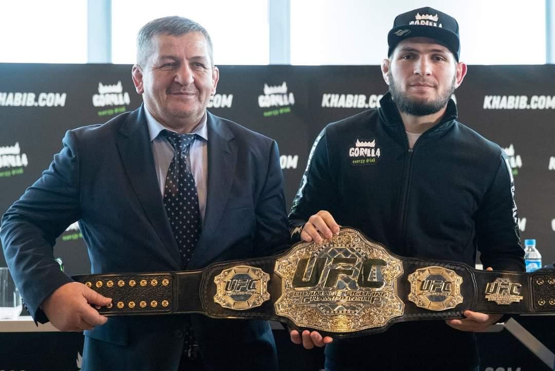29-0: UFC lightweight champion   retires undefeated — in pictures #UFCFightIsland6 #khabibnurmagomedov #Khabib #UFC254 #UFC #MuslimBrotherhood https://t.co/LEc5aaPkEw