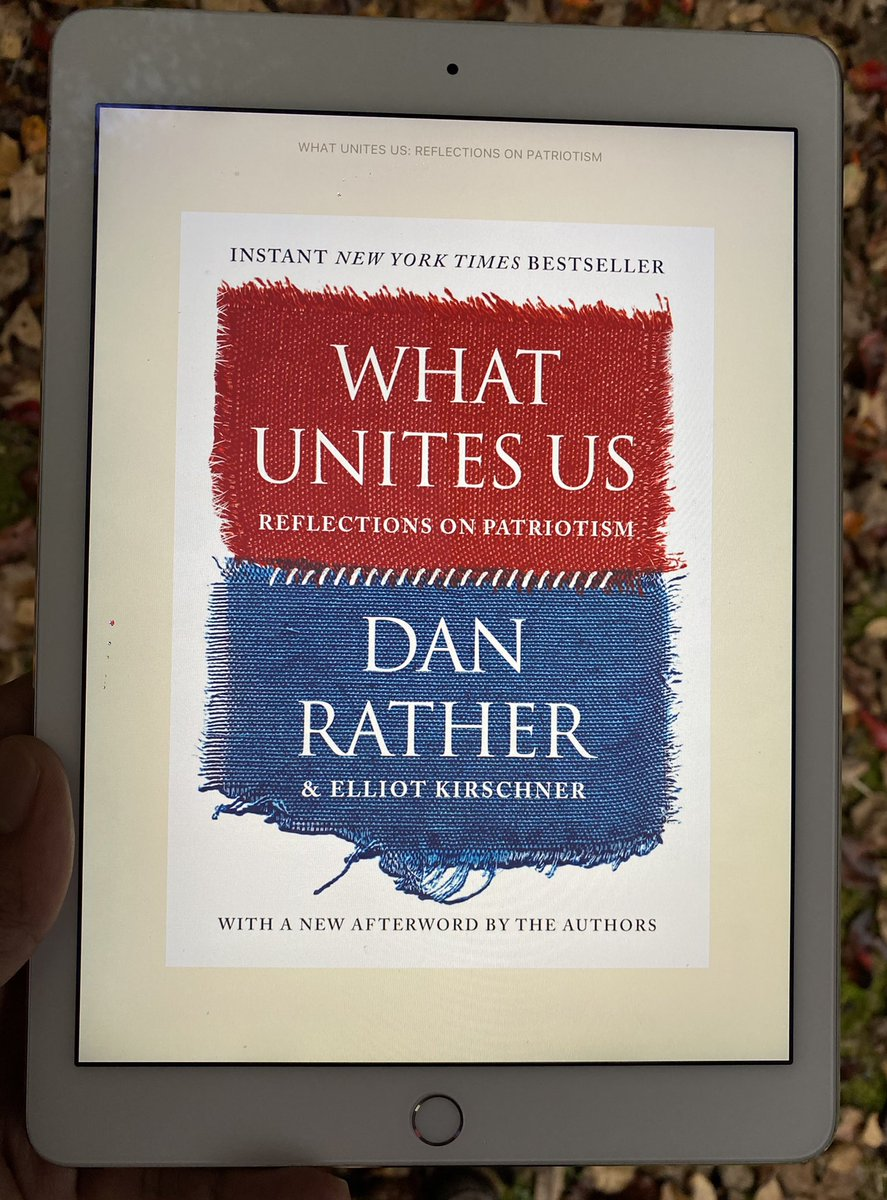 In 2020, when democracies around the globe are dealing with all kinds of challenges, #WhatUnitesUs is a gentle reminder to every caring citizen, institution & leader on what it takes to build & sustain an inclusive-strong community, org, & nation. TY @DanRather & Elliot K!