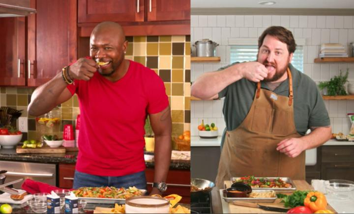 Huddle up with @EddieJackson as he breaks down one of his favorite game day recipes! #KrogerHomegating 🏈👉