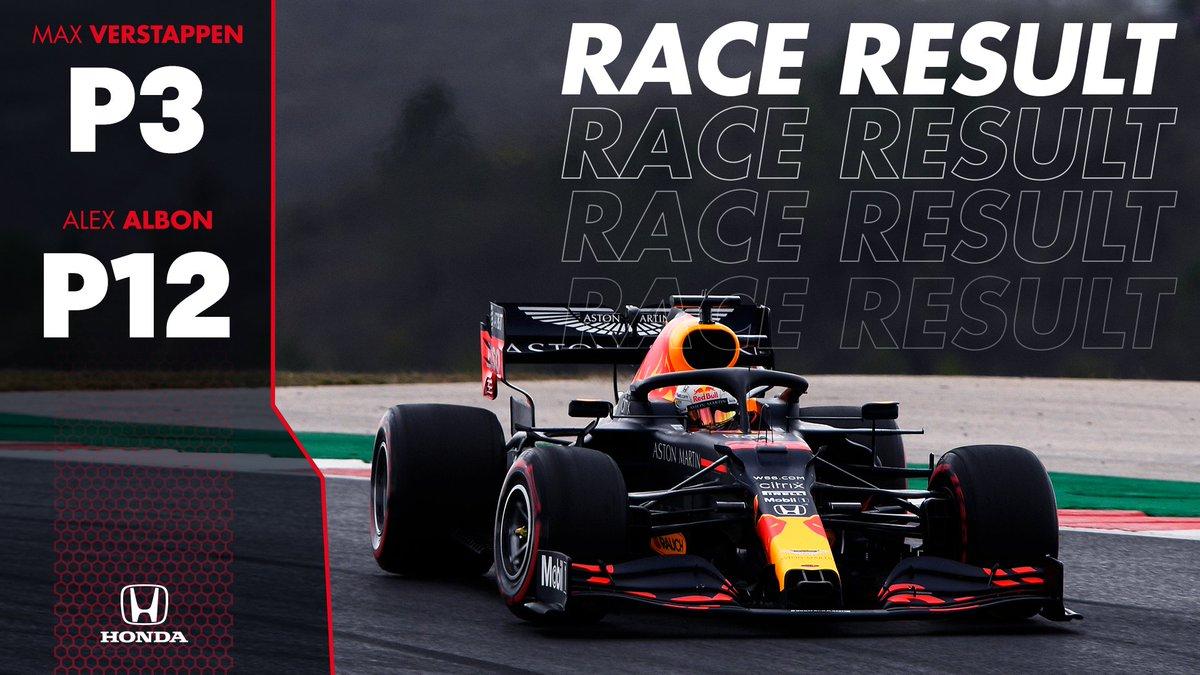 Aston Martin Red Bull Racing On Twitter Race Result Portuguesegp Ham Bot Max P3 Lec Gas Sai Per Oco Ric Vet Alex P12 F1