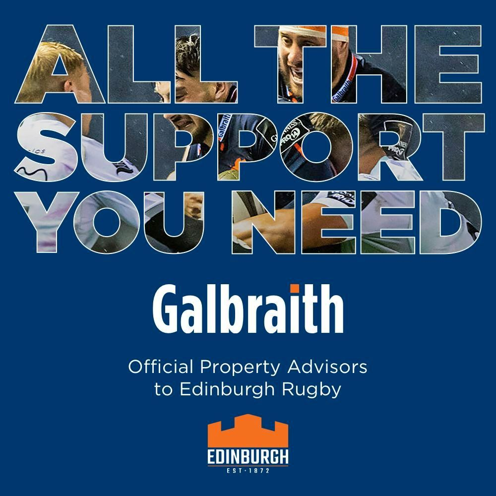 🏉 Best of luck to @EdinburghRugby who take on @connachtrugby this evening! #Galbraith #OfficialPropertyAdvisors