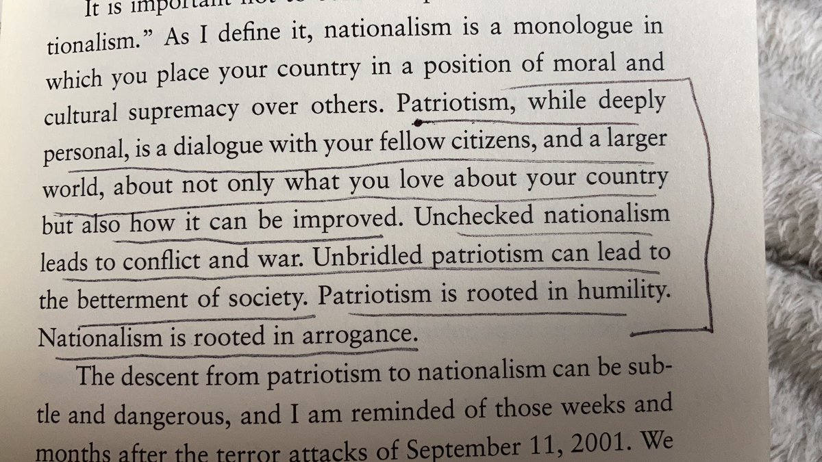 I just started and am already underlining passages in @DanRather's #WhatUnitesUs. Highly recommend!