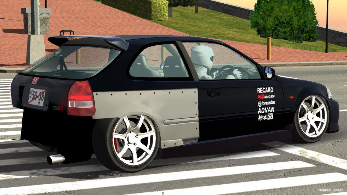#Carparkingmultiplayer フェンダーが流行ってるらしいんで鉄板フェンダーとタピオカフェンダー貼っときます(?) https://t.co/qQm7YgJfEg