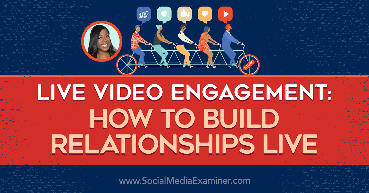 Live #Video Engagement: How to Build Relationships Live bit.ly/2TmMb0T