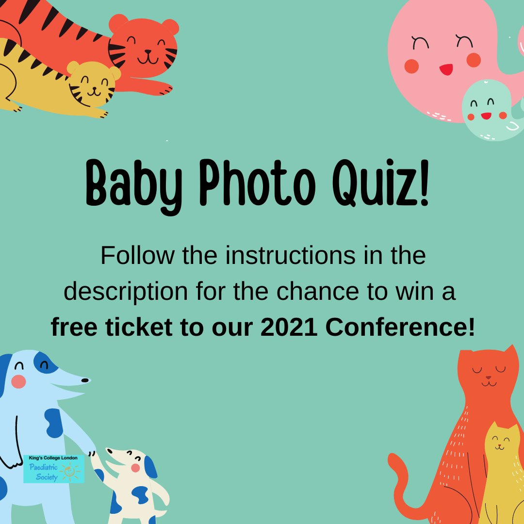 Want the chance to win a FREE TICKET to our 2021 #Conference?! Take part in this committee baby photo #quiz!  https://t.co/MdXfY5GVt4  Fill out the answer sheet on the quiz by Monday 30th November at 6pm! https://t.co/DZJ0hMiXOp   #paediatrics #paeds #doctor #medschool #Students https://t.co/yYZmLNwiaa