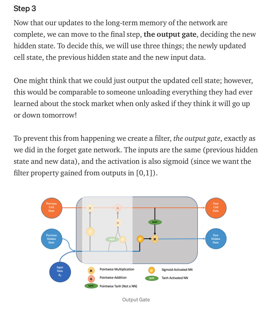 #LSTM #Networks: Detailed Explanation🌐📡 ⬇️ https://t.co/xBAcv4Sa8E Via @gp_pulipaka   #BigData #Analytics #DataScience #AI #MachineLearning #ML #IoT #IIoT #IoTPL #Python #RStats #TensorFlow #GoLang #CloudComputing #Serverless #DataScientist #Programming #Coding #100DaysofCode