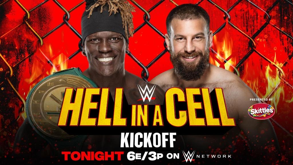 WWE Announces R-Truth Vs. Drew Gulak For Hell In A Cell Kickoff