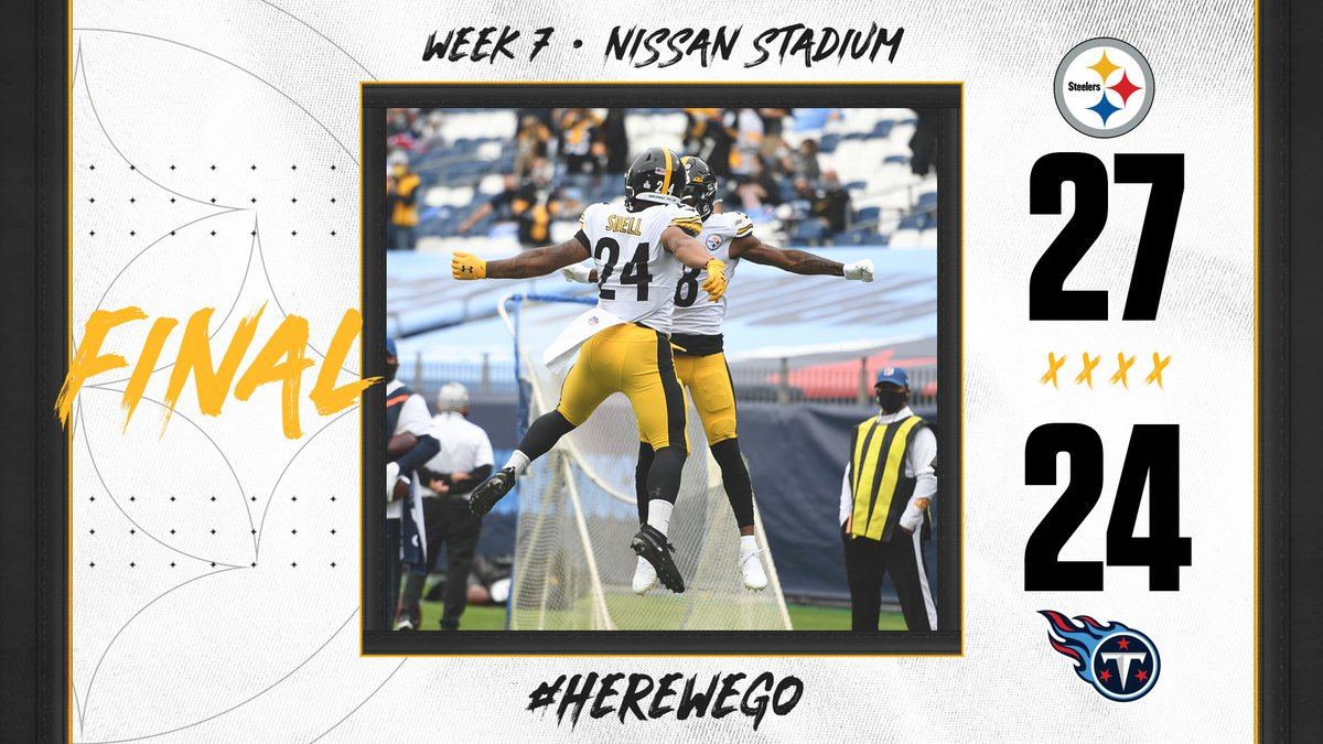 @steelers's photo on #HereWeGo