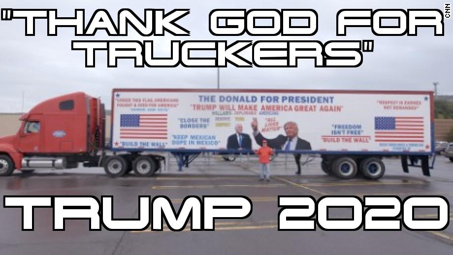 @RealRLimbaugh TRUCKERS FOR TRUMP ✔
