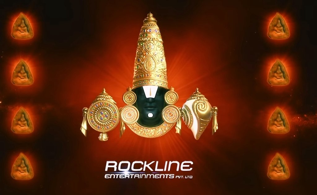 #Linga Producer Rockline Title Card..  Lik Thalaivar Face.. https://t.co/XgLTXYsVYI https://t.co/gJ22TIi11P