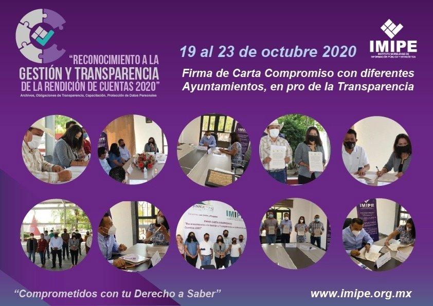 ➡️📝 Durante la semana que culmina los municipios de @ZapataGob, @Huitzilac2019, #Ayala, #Axochiapan y #Jonacatepec se sumaron al compromiso de cumplir con sus obligaciones de #Transparencia, así como atender los temas de protección de #datospersonales, 1/2 https://t.co/Hrhc2R7I7r