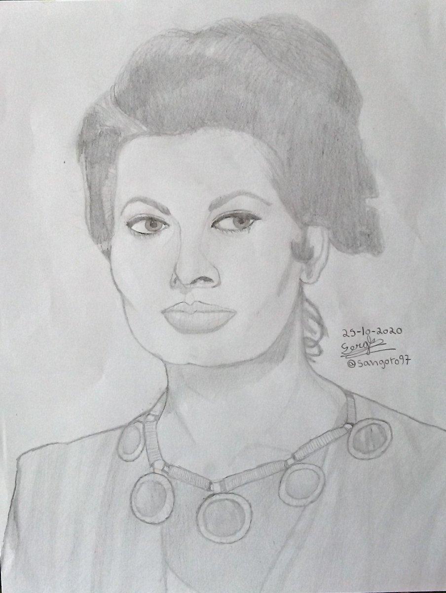 SOPHIA LOREN. Materiales: lápices 2H, H, 2B, 3B, 4B. . . #sophialoren #actress #Actriz #movies #film #classicmovies #cineitaliano #cine #peliculas #drawing #pencildrawing #portrait #illustration #art #dibujos #dibujosalapiz #retrato #ilustracion #arte #fanart #popart https://t.co/ZH6pGL9Ji6