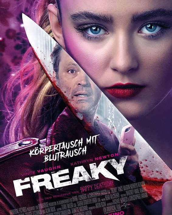 #FREAKY (USA 2020) From 19th November in German #Cinemas. Photos and HD-#trailer in the #news category of my #horrorblog. Here is the direct-link: https://t.co/7nAydxcccX ▪️◾▪️◾▪️◾▪️◾▪️ #kino #movie #movies #horror #film #actor #actress #Podcast #show #television #Bluray #DVD https://t.co/UC8c40Fw2h