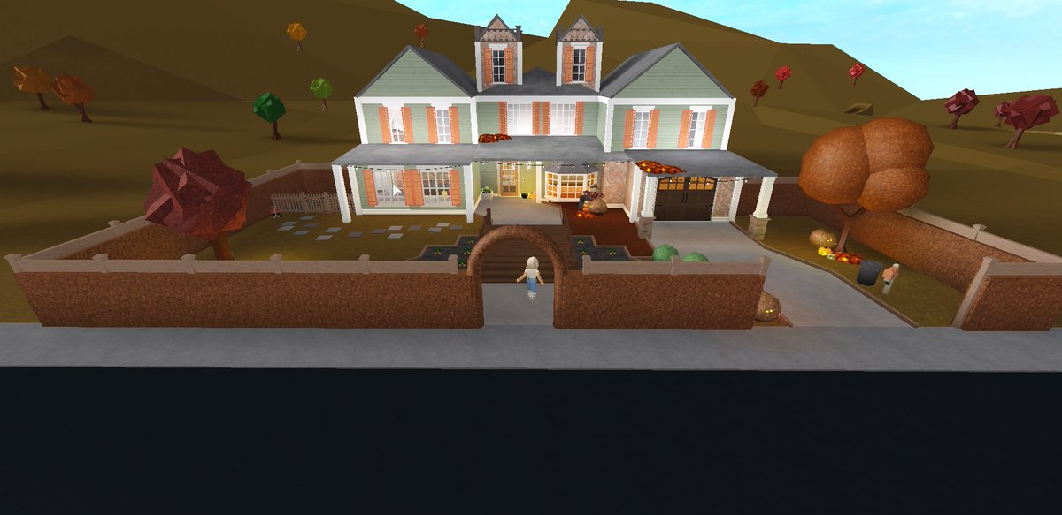 First tweet and it's on one of the builds I made on bloxburg! Just tell me if u woul'd like more pictures of the house. It will be a pleasure! #bloxburg #building #ideas https://t.co/CaKIYg92bd