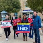 Image for the Tweet beginning: Supporting Team Leach in Allen