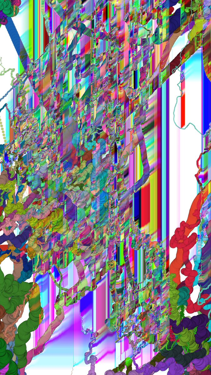 Shiroi series:  Freedom please  Prints available link in the description.  Just a Sneak peak Instagram crops it saddly. #glitchart #art #algorithmicart #codeart#ilustration #digitalart #puredata #creativecoding #pixelart #digitalabstract #newmedia #newmediaart https://t.co/MprTRGfvTm