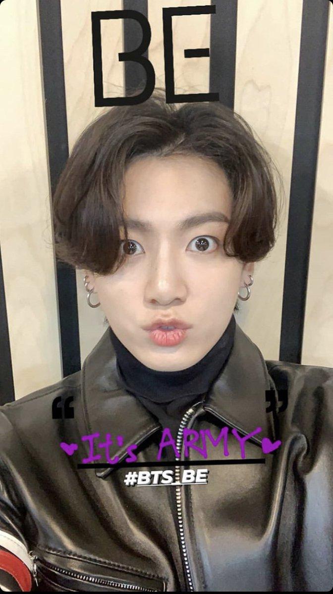 He's so cutee!! 🥰🥰  @BTS_twt #JEONJUNGKOOK #정국 #JeonJungKook #BTSPavedTheWay #kookie #JungkookWeLoveYou #JUNGKOOK #JungkookMyTime https://t.co/armUjkhagA