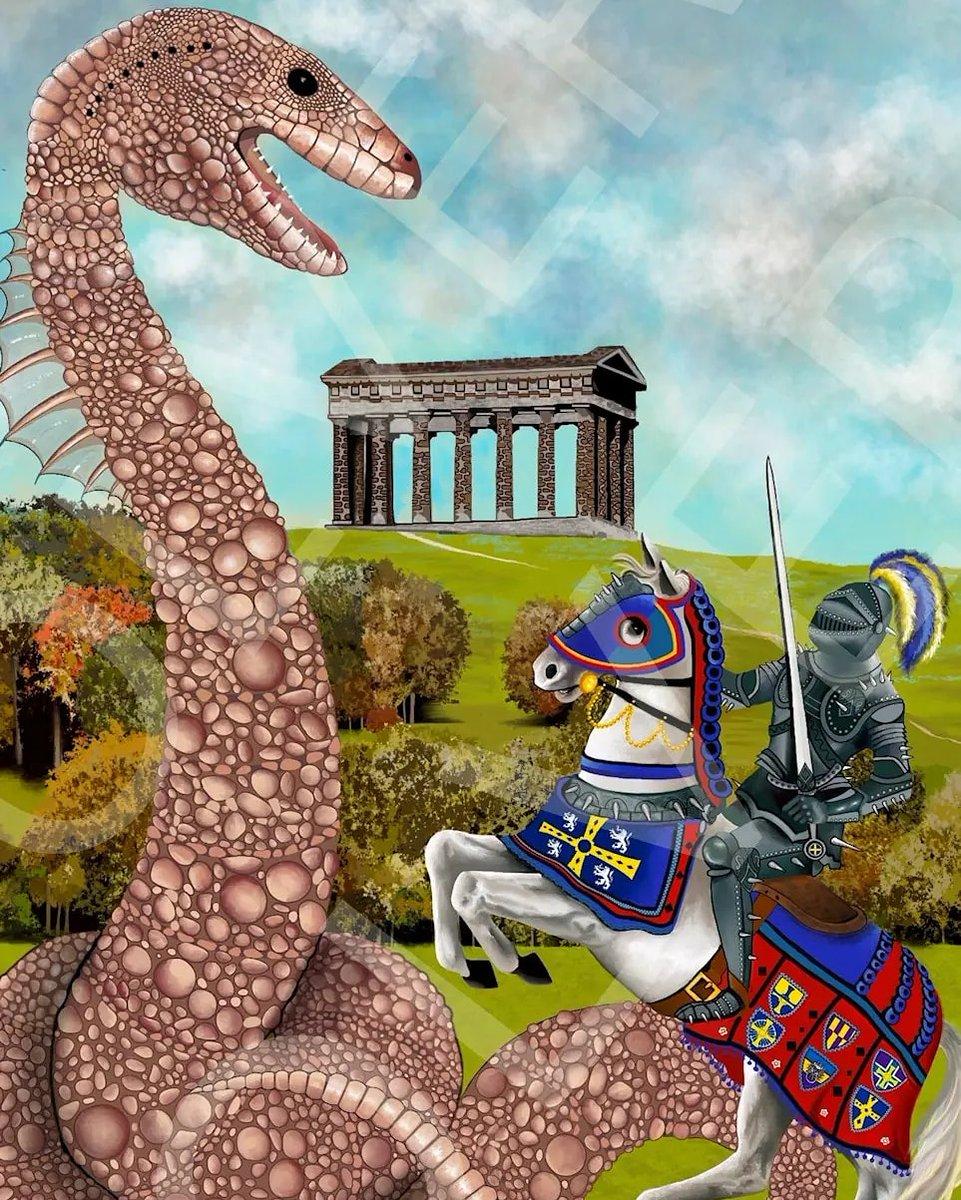 Celebrating #internationalartistsday with #digitalartwork of #thelambtonworm   https://t.co/Ysas2OgdF3  #art #artists #dragon #serpent #mythology #legend #artforsale #contemporaryart #penshawmonument #durhamuniversity #sunderland #interiordesign #northeastengland #knight #artwork https://t.co/LSNsI8rwGr