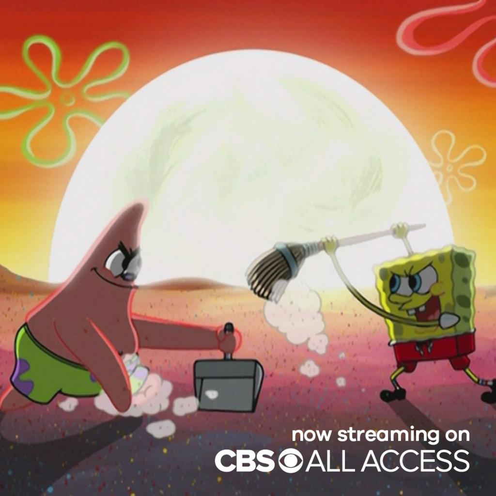 name a better duo... well wait stream 11 seasons of SpongeBob & Patrick on @CBSAllAccess at.nick.com/cbsaaSpongeBob…