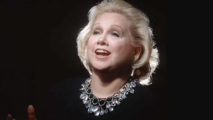 """Birthday Remembrance ~ #BarbaraCook (1927-2017) Won Broadway's 1958 @TheTonyAwards as Best Featured Actress (Musical) for playing """"Marian,"""" in #TheMusicMan. In 2002, she was nominated in the Special Theatrical Event Category for her show """"Barbara Cook Sings Mostly #Sondheim""""."""