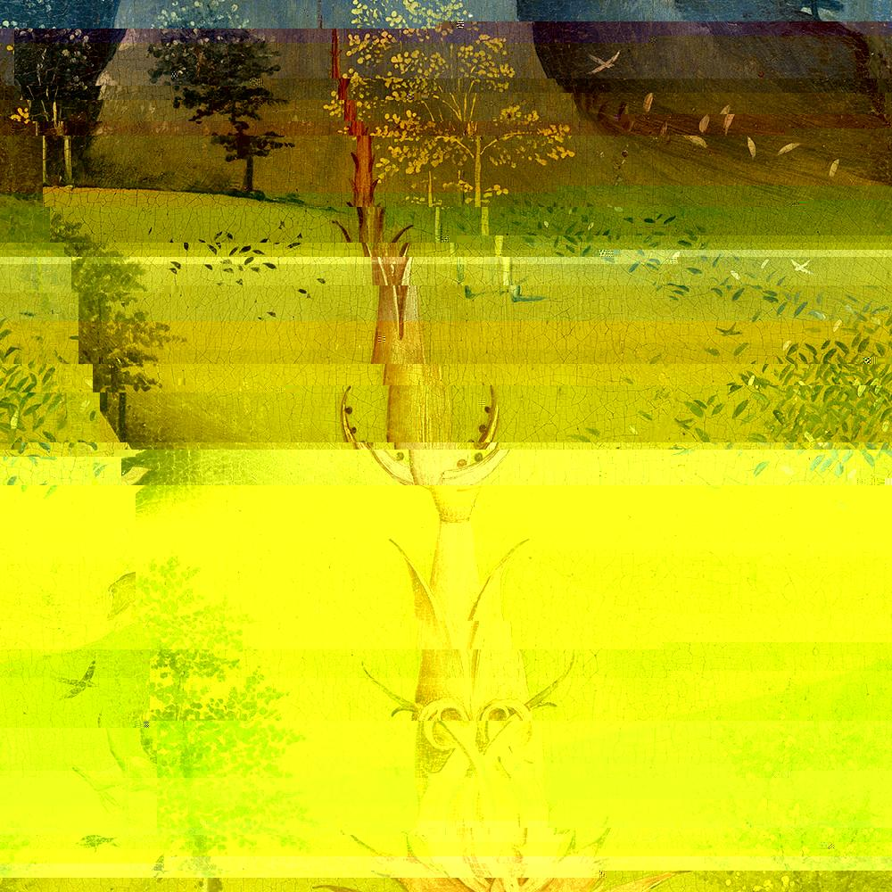 I have been on for 7 hours, 5 minutes and 23 seconds. The CPU temperature 50.5 °C. I use 68% of my disk space, and 32% of my RAM.  #GlitchArt #CyberPunk #BotArt https://t.co/8ZiT0K2uzU