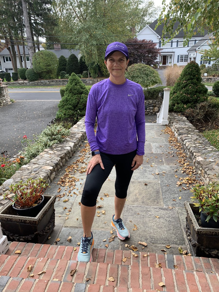 Thanks to Project Purple, I keep running. We are all united in our fight against pancreatic cancer. Stay healthy. #madamsurgeon#project purple