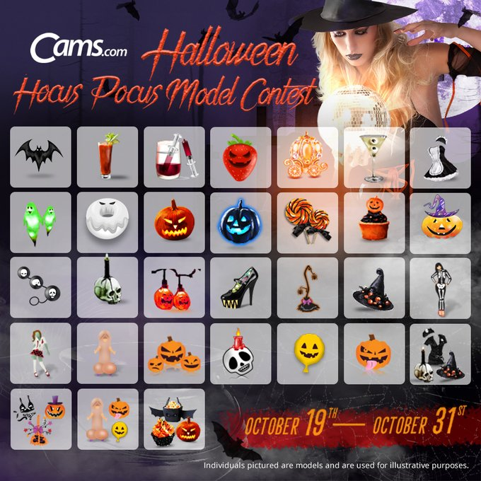 🎃🎃It's CONTEST time at https://t.co/xW5rY6im8Q!🎃🎃 Our #camsex models are getting in the spooky spirit