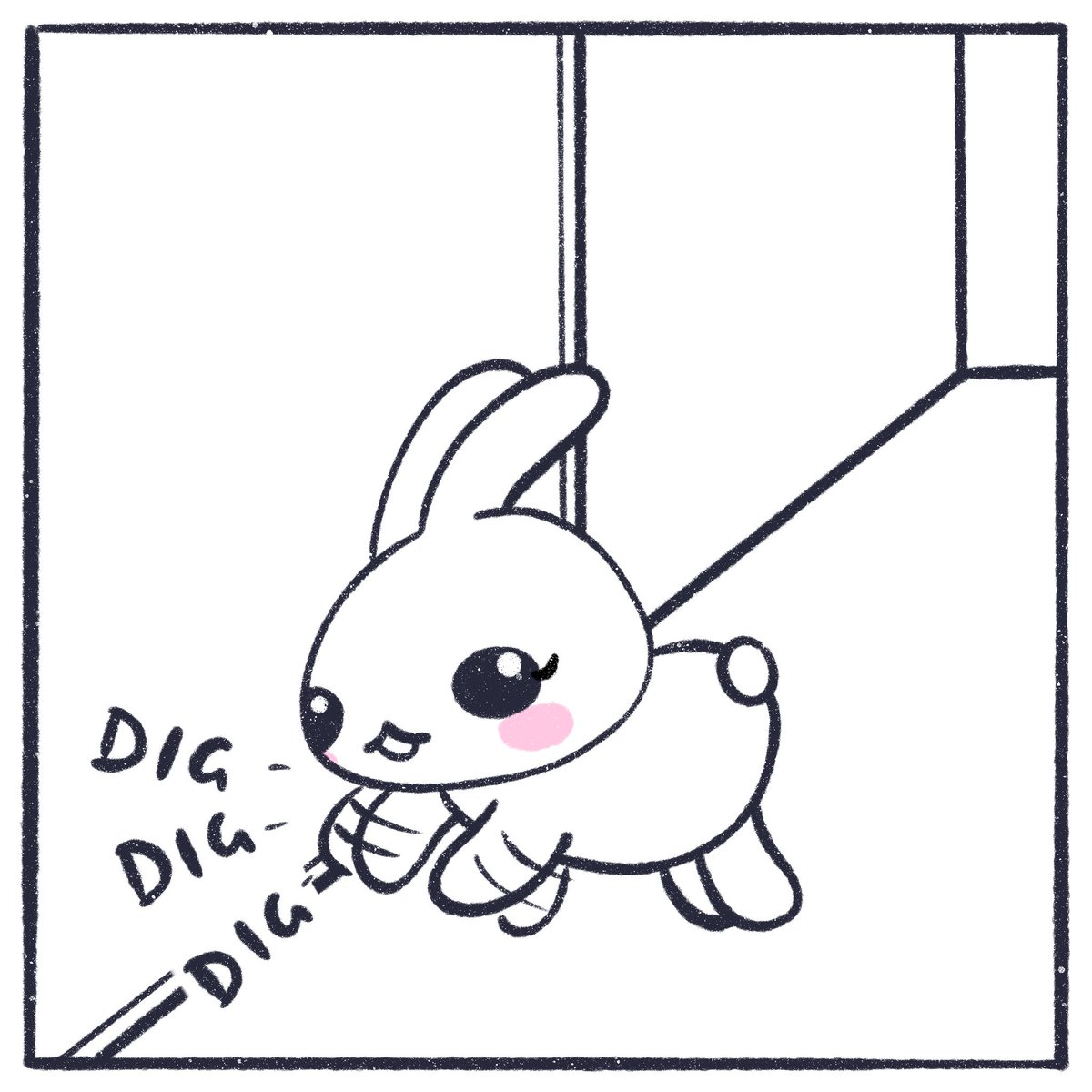 Day 17/100: I've been down with a bad cold/flu the last couple of days so I've put a bit more time into today's comic to make up for the missing days 😅   #the100dayproject #100thingsmybunniesdo #IndecisiveRabbits #DailyComic https://t.co/k0A2bnjoW4