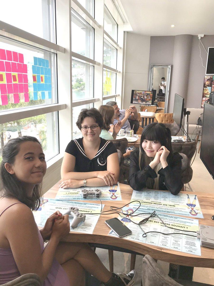 Polymanga café Photo book 8 1/2   #polymanga #cosplay #anime #game #fashion #japon #montreux #cafe https://t.co/rV6ICU6slV