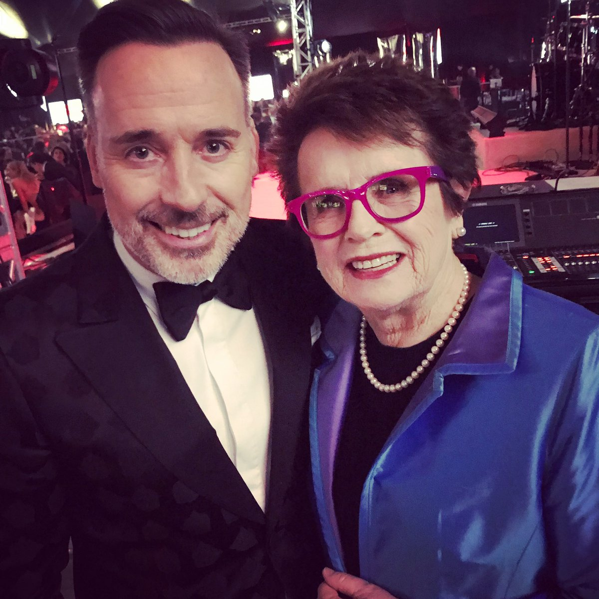 Happy birthday to our wonderful friend, David Furnish. He and @eltonofficial, along with their terrific kids, are such special people. 🎂🎊