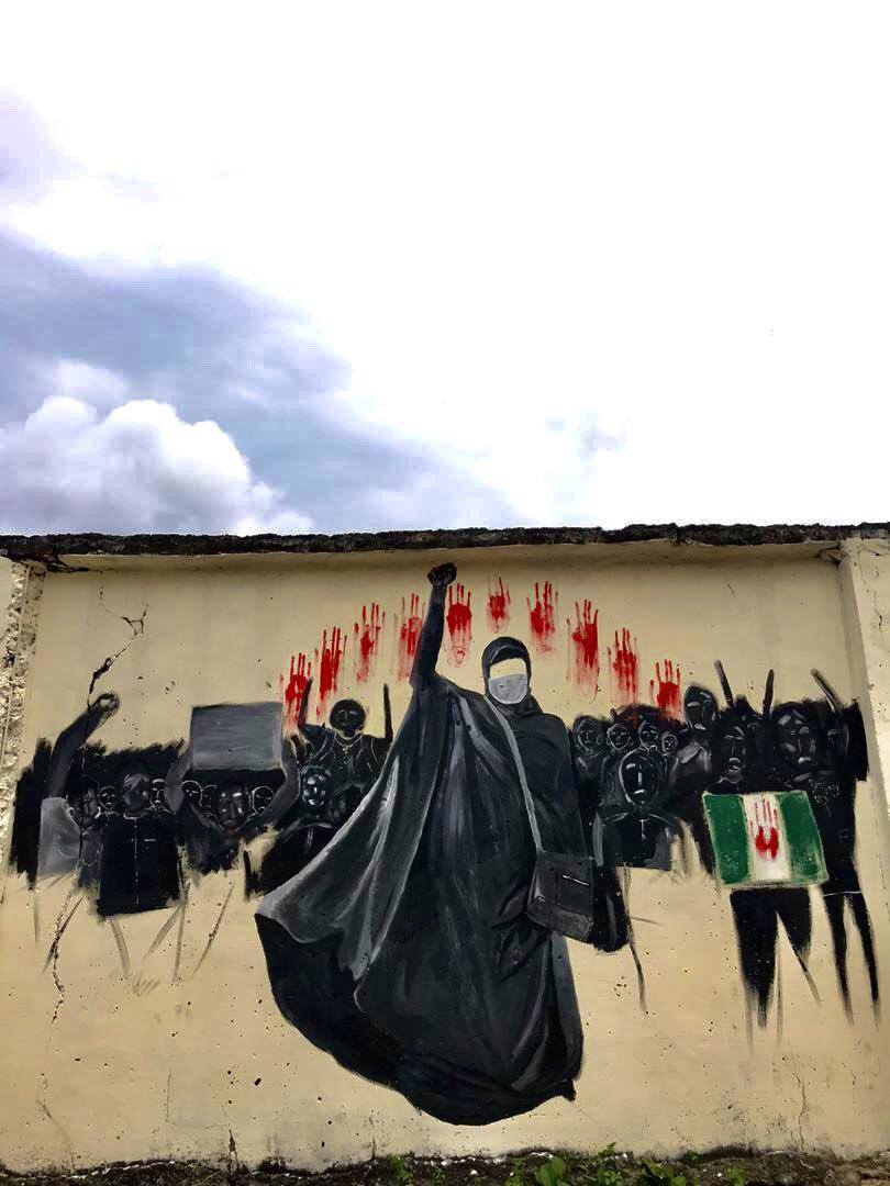 #EndSars #EndPoliceBrutality #ENDBADGOVERNANCE #EndOppressionInNigeria https://t.co/GDVrv7x4eb