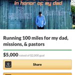 Image for the Tweet beginning: $5000.00 raised for pastors and