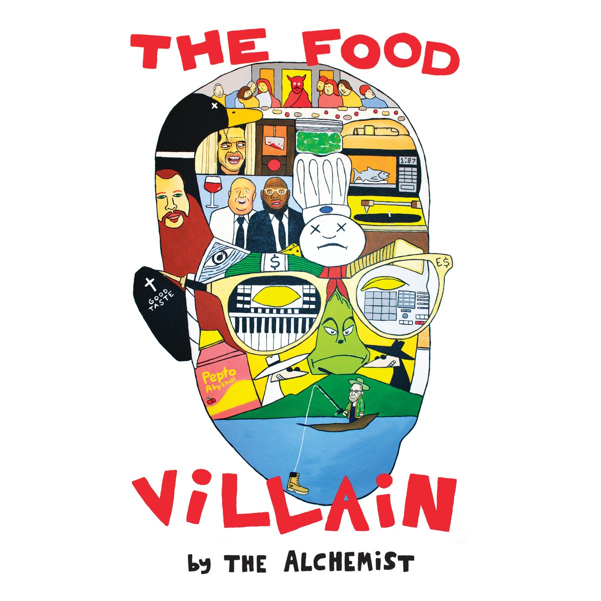 My concert DJ and cohort @Alchemist just dropped his new project The Food Villain - hit up ALC Records to pick it up!