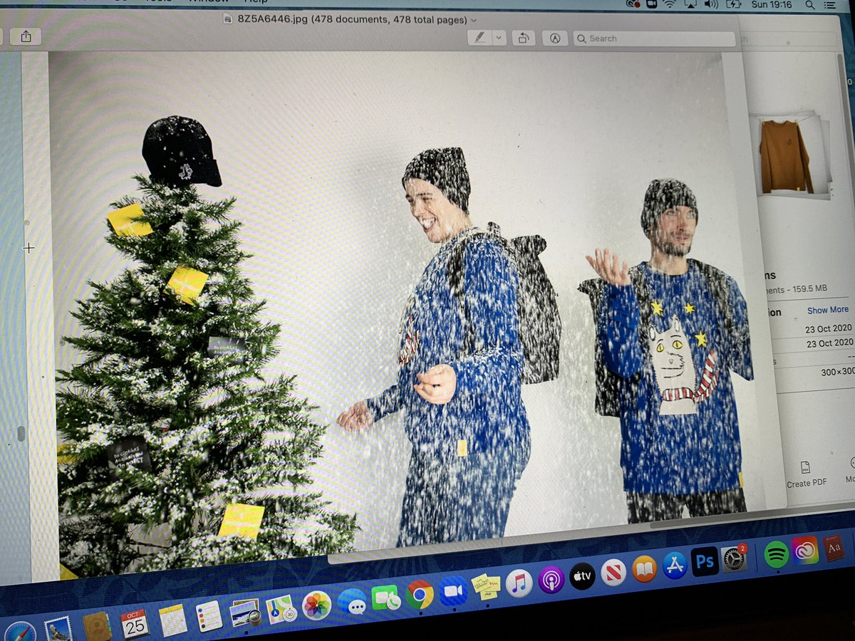 Beginning the Christmas catalogue/ #website page building for our #christmas range, now that the latest #photoshoot images are back. Thankyou #clairelewis they are stunning!!! Our models were just SO happy AND gorgeous! https://t.co/hkZoE12K6U