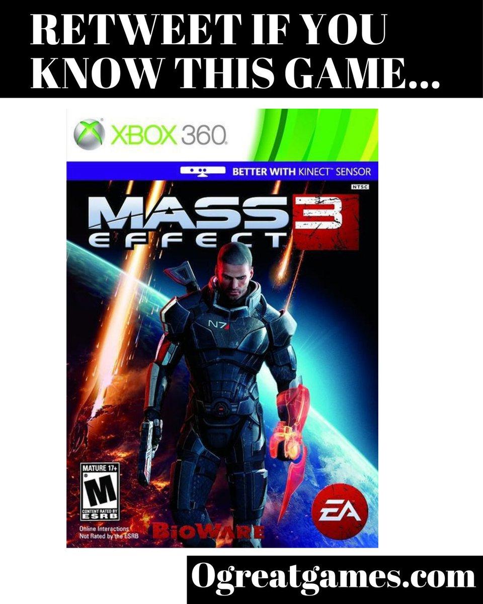 RT if you enjoyed Mass Effect 3! #fun #tweet #rt #microsoft #games https://t.co/QMOwmy2O95