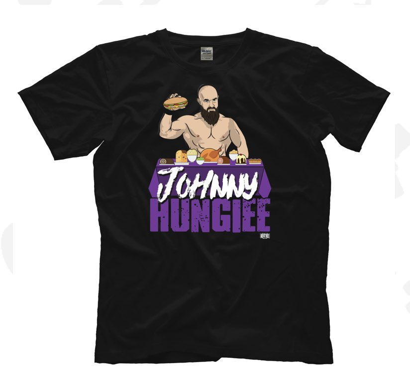 I get tweets everyday about Johnny hungiee shirts. It's been out for about 3 weeks. Go buy it