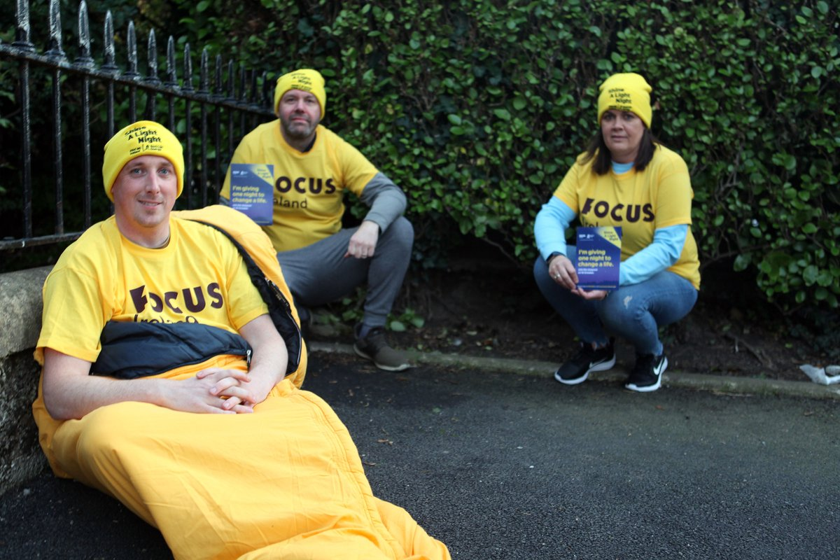 Sodexo employees raised €14,000 for Focus Ireland at the charity's 'Shine a Light Night' fundraiser. Teams across Ireland took part in the annual sleep out to raise vital funds for people experiencing homelessness: https://t.co/rmJq9wojNu #ShineALightNight https://t.co/vQiuhjOd0w