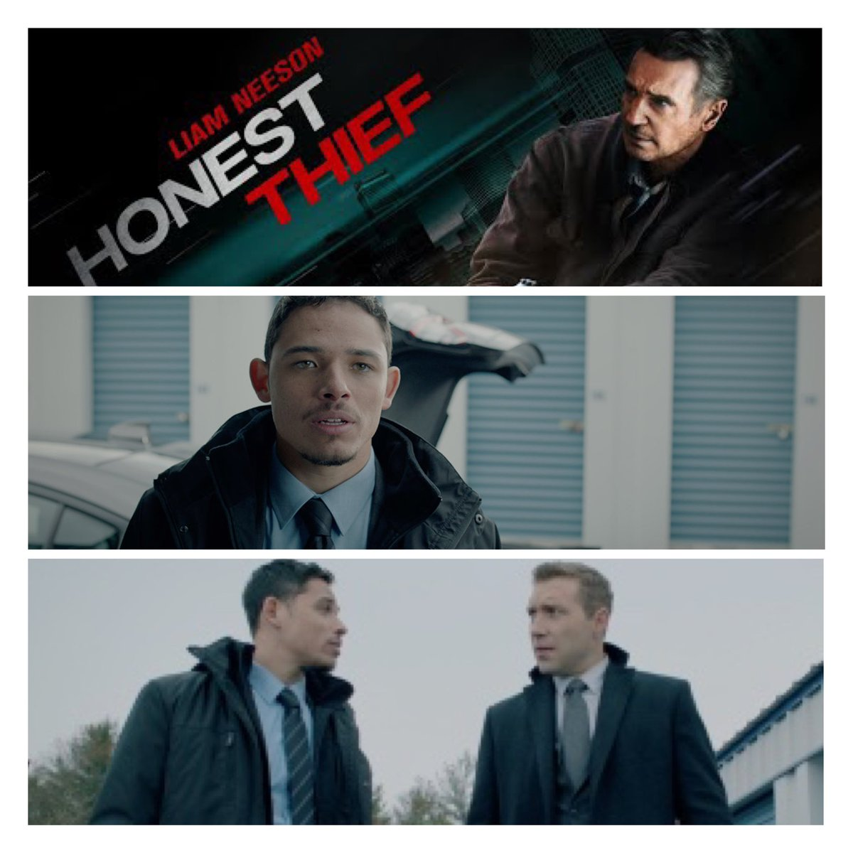 'HONEST THIEF' in theaters today. @ARamosofficial  ✊🏾🙌🏽 https://t.co/iln6nT01Ry