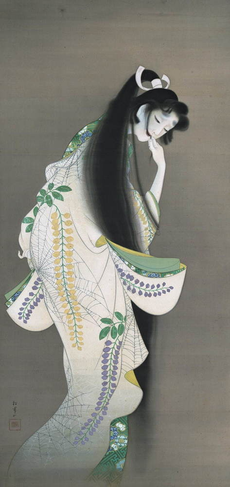 """「あやしい絵展」東京&大阪で - 上村松園などの日本近代美術にみる""""神秘的・奇怪""""な表現 -"""