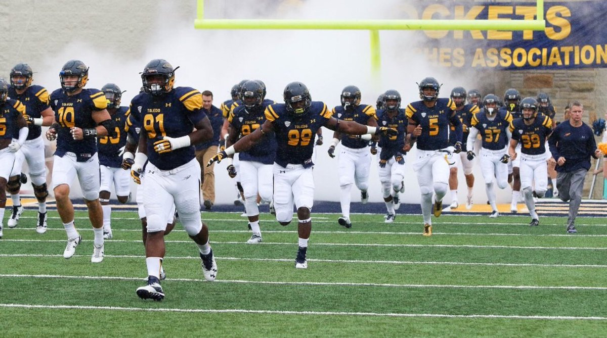 Blessed to Receive my First Division 1 offer to The University of Toledo !! 💛💛 @vkehres @CoachRossWatson @apPrep @NextLevelQBs @ZAP_Philly