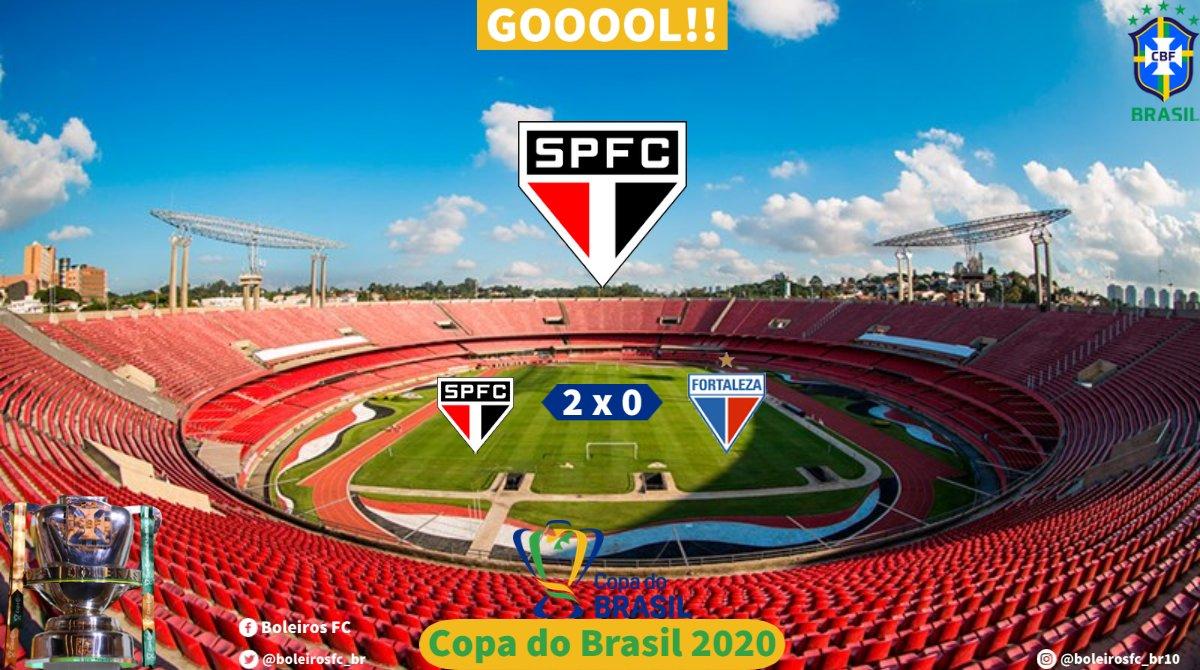 Gooool do São Paulo!! #SPFCxFOR  ⚽ 30 Brenner  ⏱️ 26' 2T ↪️ São Paulo 2 x 0 Fortaleza https://t.co/BIfJpaoXba